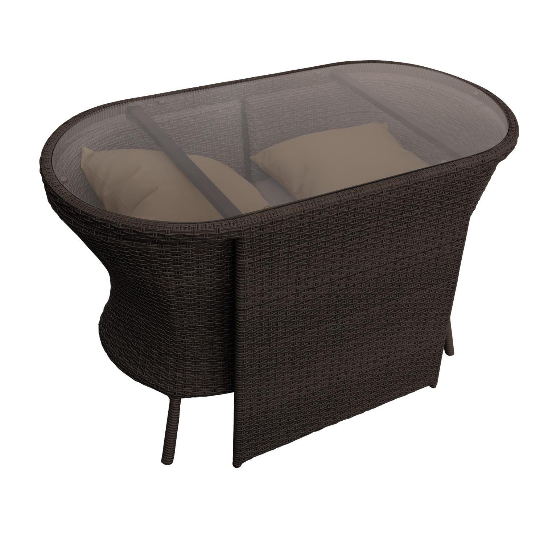 Einzigartig Rattan Sitzgruppe Balkon Design
