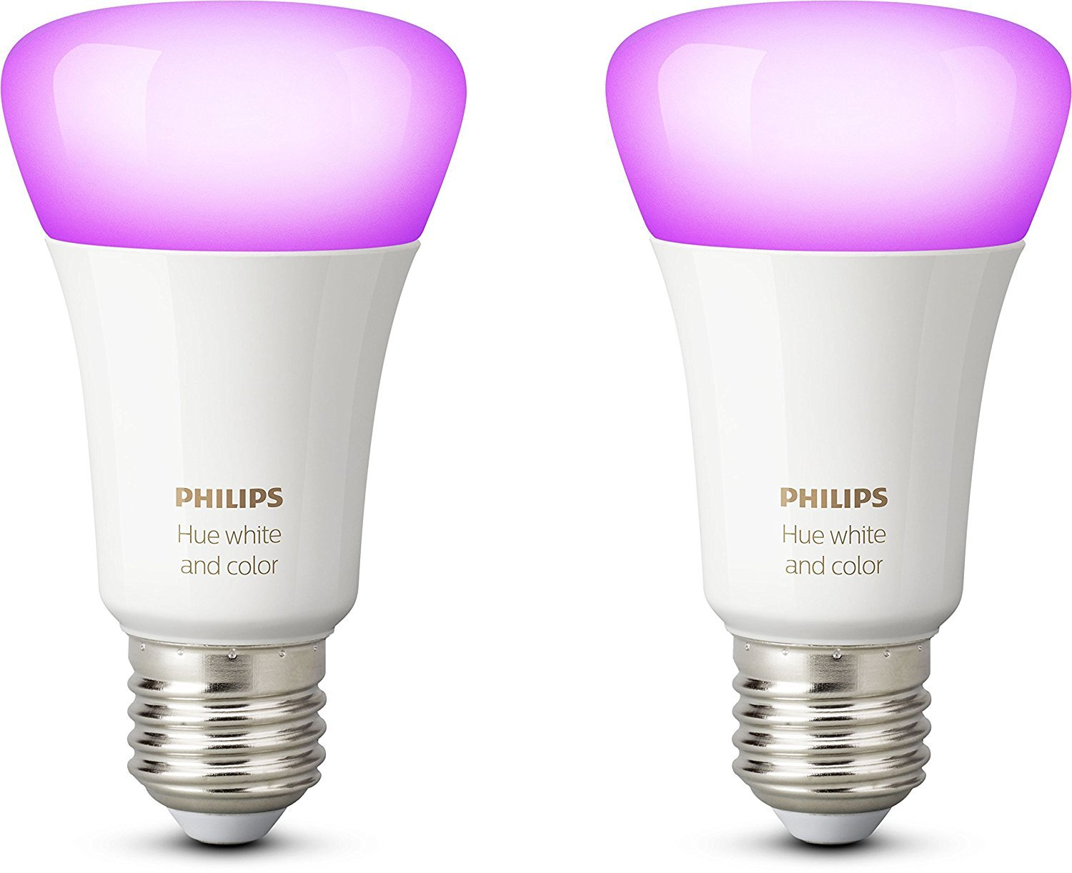 2321726 philips hue white and color ambiance led lampe doppelpack e27 2er pack ebay. Black Bedroom Furniture Sets. Home Design Ideas