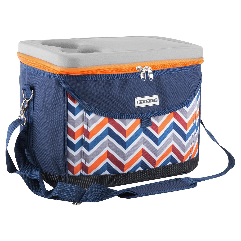 anndora bag Weinpräsent-Tasche Kühltasche iso Tasche für Wein Picknick bag