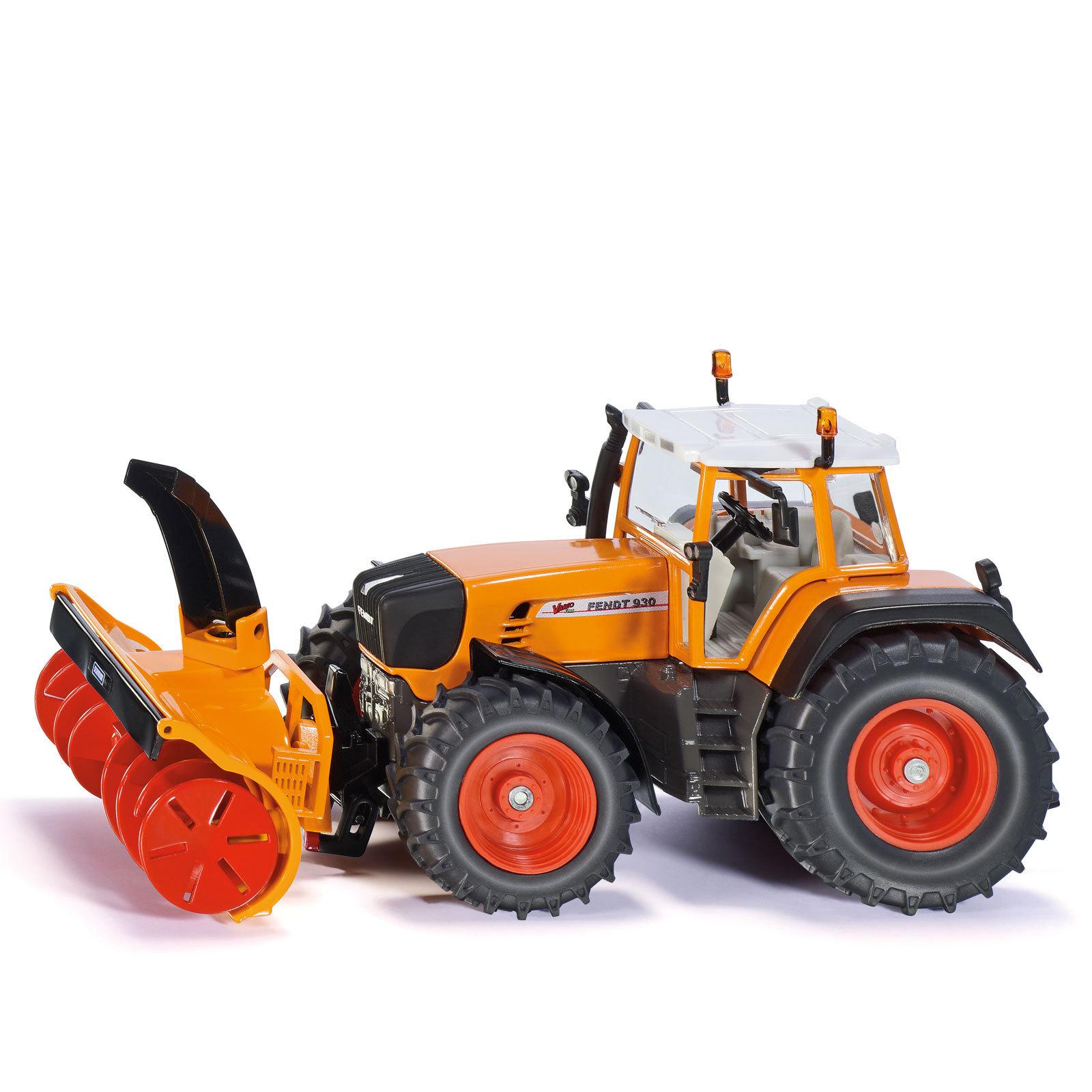 Cxserie 3punkt Schneefräse Traktor Schneefräse: SIKU Farmer Spielzeug Traktor Schlepper Fendt Mit