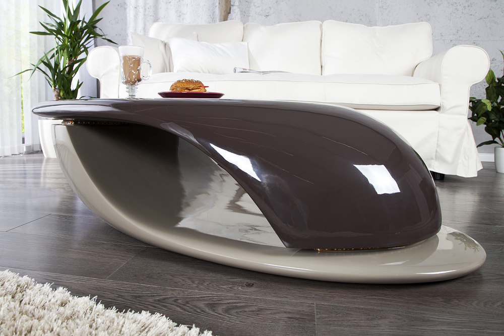 design couchtisch district highgloss mit led beleuchtung wohnzimmertisch lounge ebay. Black Bedroom Furniture Sets. Home Design Ideas