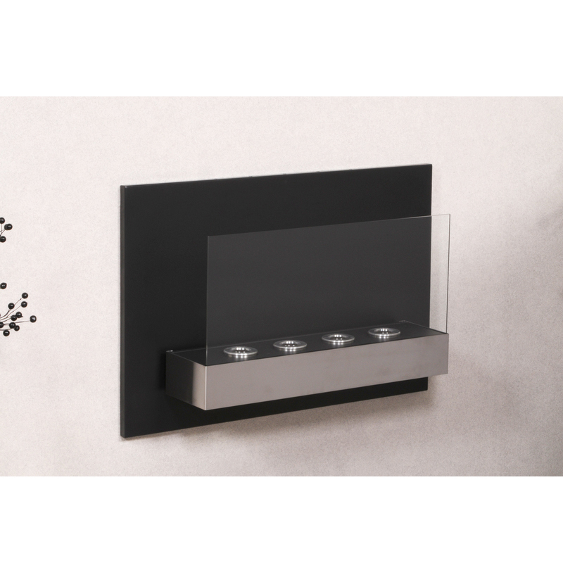 Hark design wandkamin loft 2 inkl 4x brenngel gel kamin for Kamin mit brennpaste