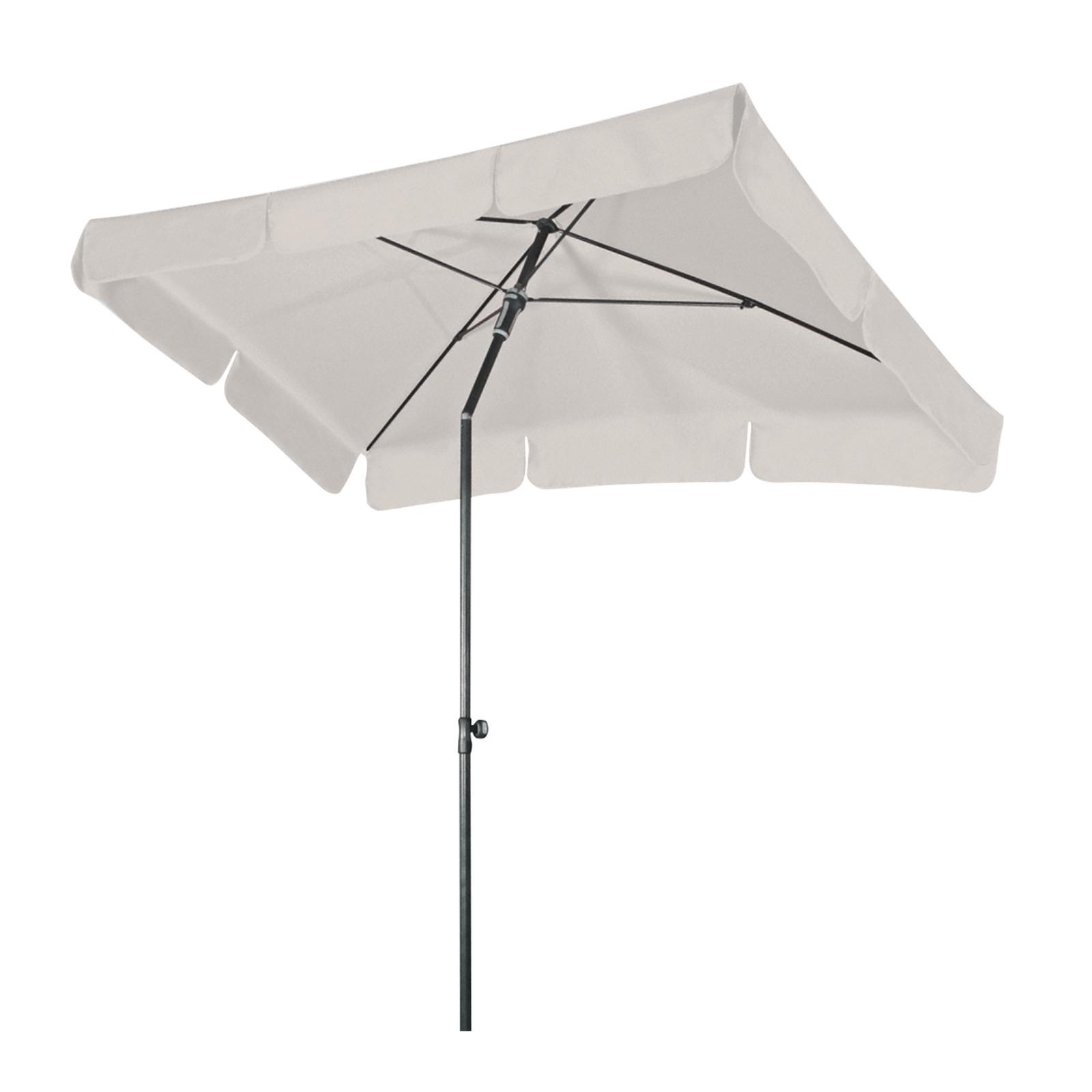 doppler sonnenschirm schirm sun line waterproof ii wei 225x120 cm rechteckig ebay. Black Bedroom Furniture Sets. Home Design Ideas