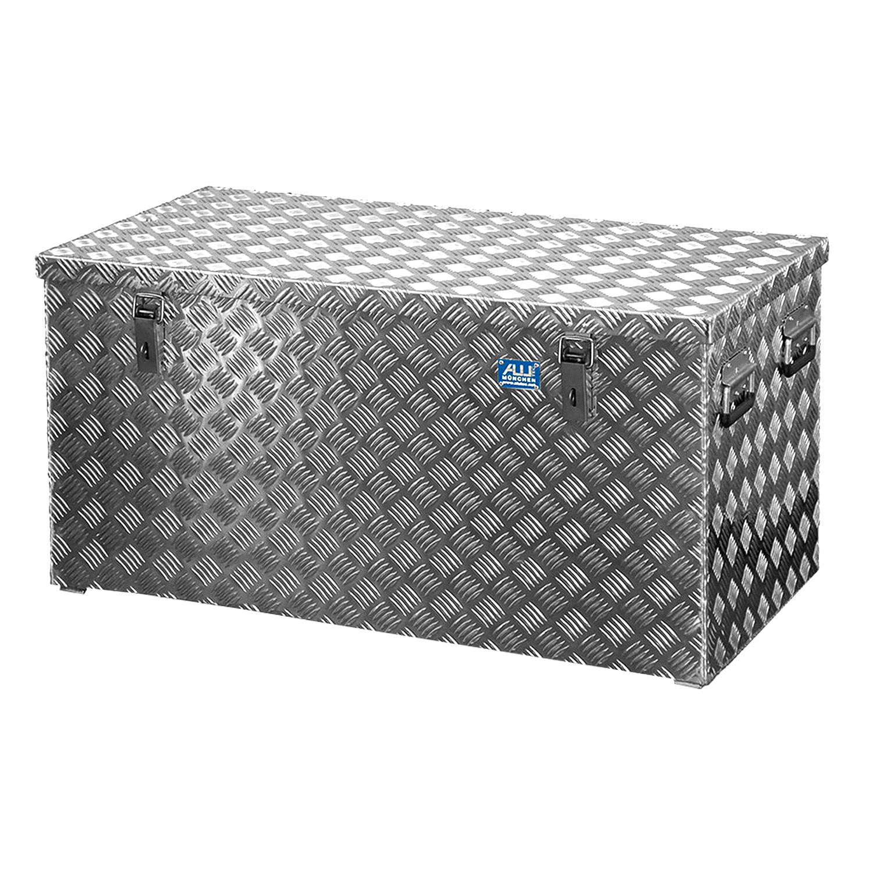 alubox alukiste riffelblech r250 aluminium riffelblechbox transportbox alutec ebay. Black Bedroom Furniture Sets. Home Design Ideas