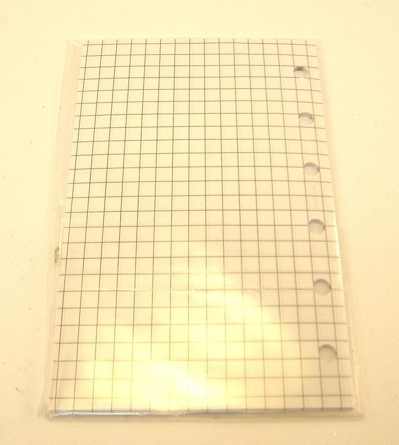 pocket Format 5 x 20 Blatt arlac kariert Notizpapier Art.Nr.735