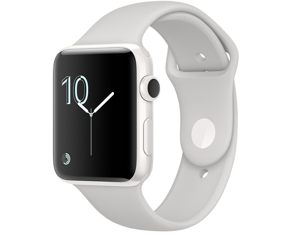 apple watch series 2 38mm white ceramic sport band cloud neu ovp ebay. Black Bedroom Furniture Sets. Home Design Ideas