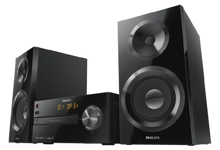 philips btb2570 12 mini stereoanlage bluetooth dab usb neu ebay. Black Bedroom Furniture Sets. Home Design Ideas