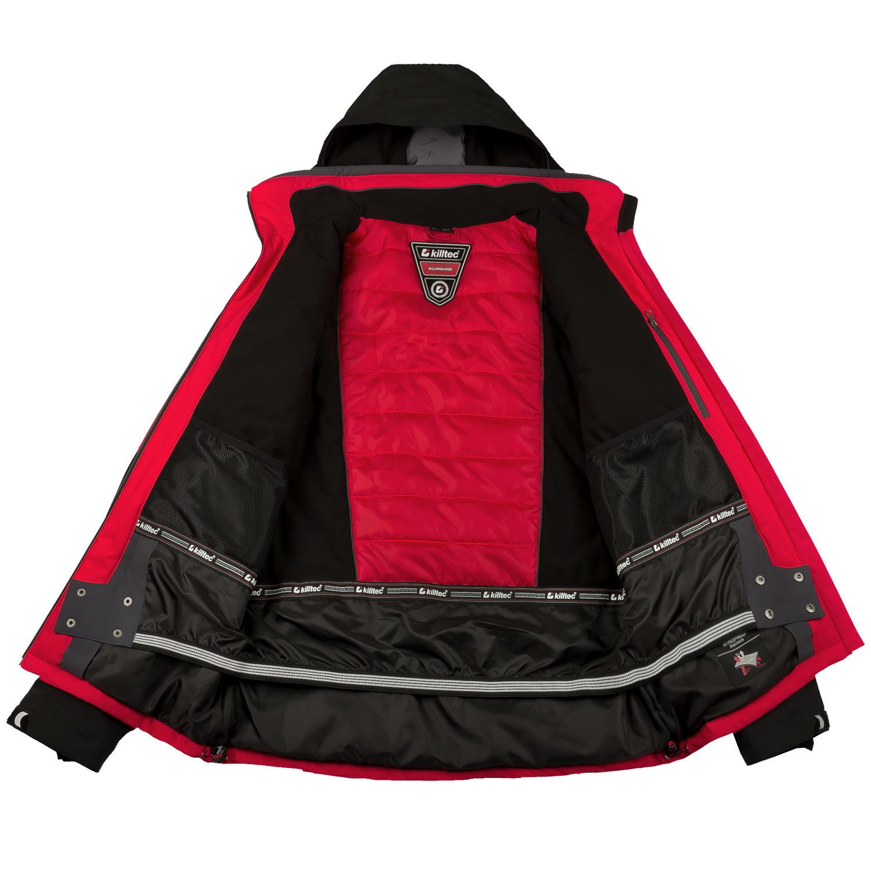 killtec herren skianzug skijacke rot skihose schwarz. Black Bedroom Furniture Sets. Home Design Ideas