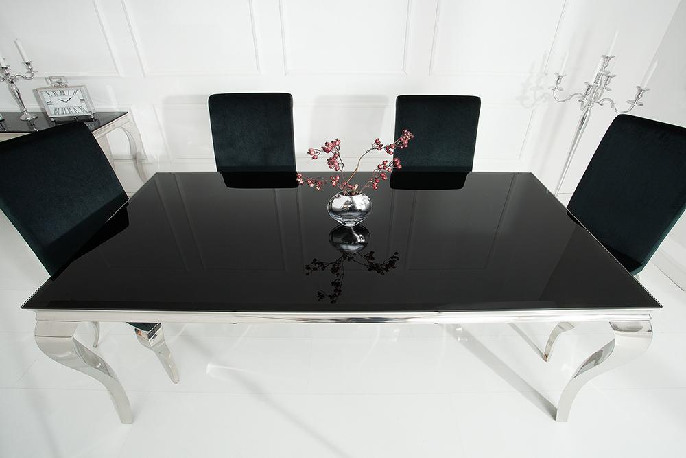 Esstisch MODERN BAROCK 200 Cm Tisch Opalglas