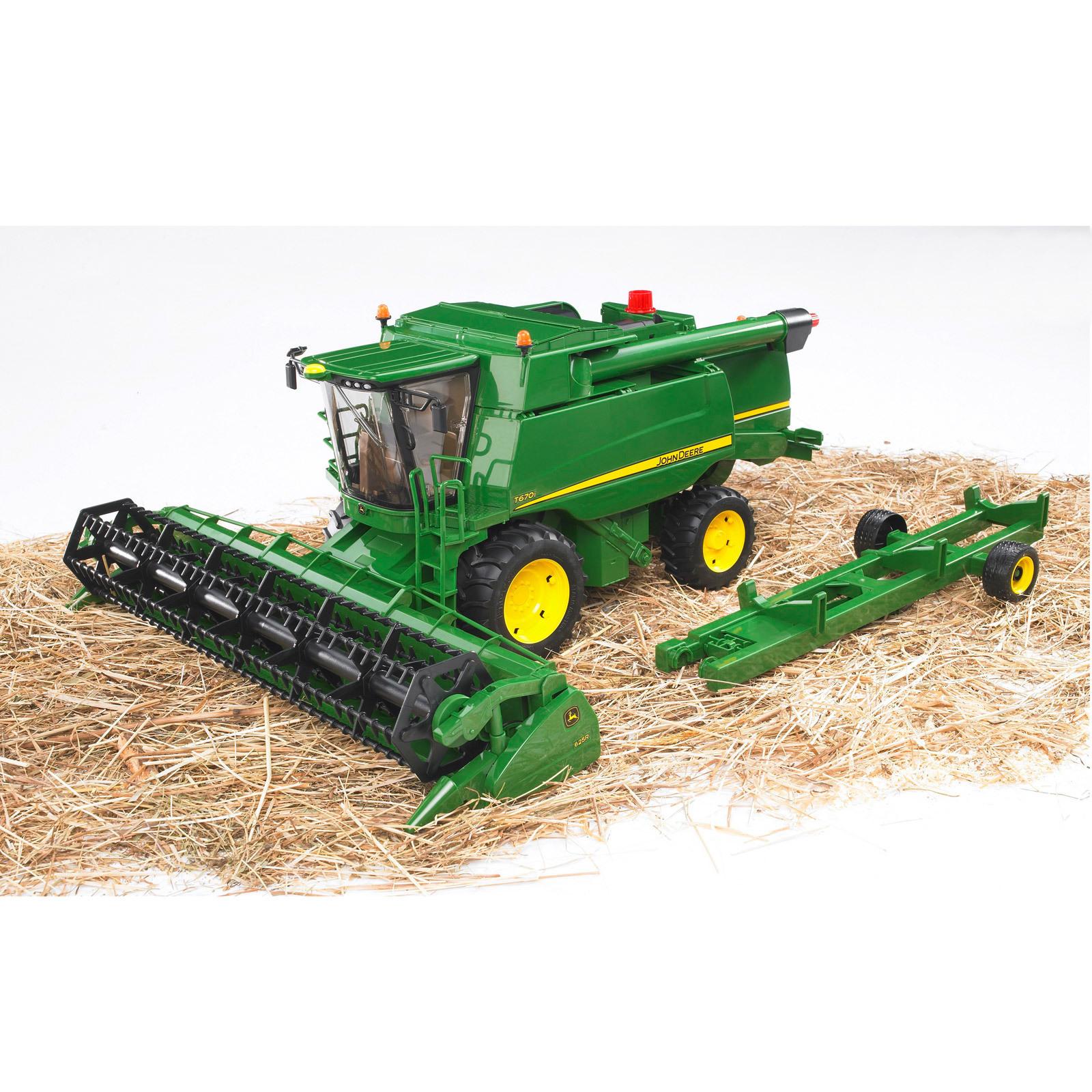 BRUDER Kinder Spielzeug John Deere Mähdrescher Erntemaschine 02132 M1:16 Spielzeugautos