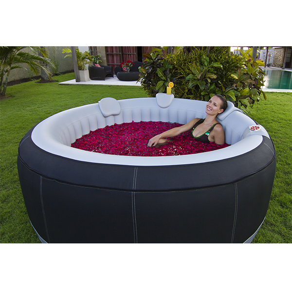 luxus whirlpool spa badewanne in outdoor pool aufblasbar mit heizung wellness ebay. Black Bedroom Furniture Sets. Home Design Ideas