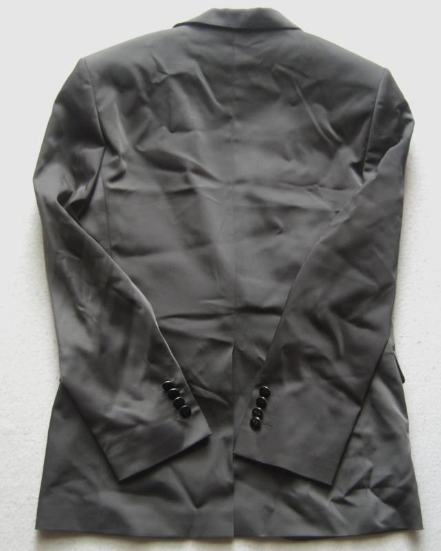 adorno herren hochzeitsanzug mit doppelkragen everest gr 54 grau ebay. Black Bedroom Furniture Sets. Home Design Ideas