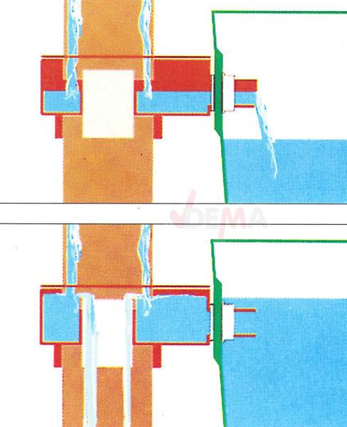 fallrohr regensammler wassersammler f r regentonne regenfass anschluss 25mm ebay. Black Bedroom Furniture Sets. Home Design Ideas