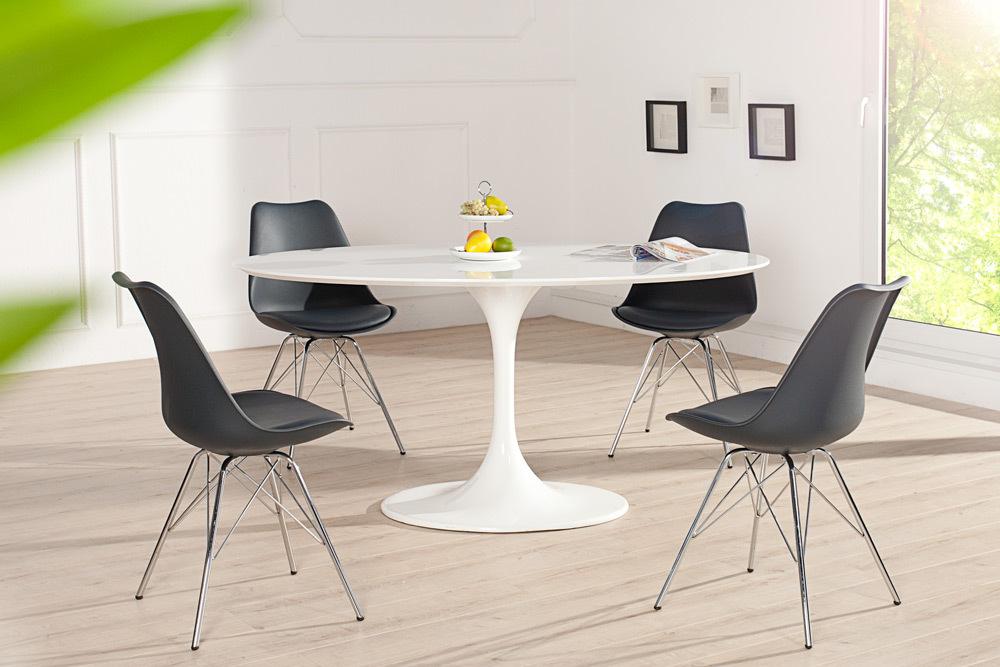 stuhl scandinavia meisterst ck farbwahl retro esszimmerstuhl k chenstuhl st hle ebay. Black Bedroom Furniture Sets. Home Design Ideas