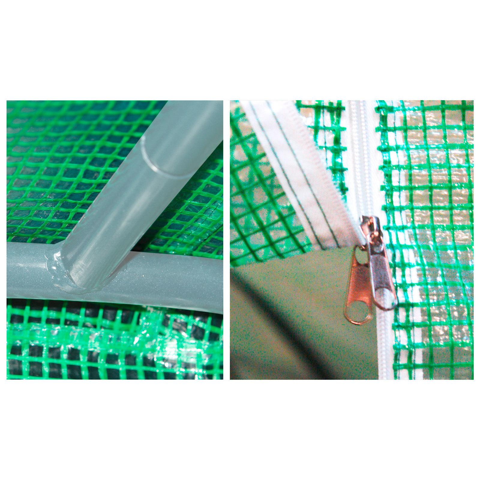 folie gewebeplane 450x200x175cm f r gew chshaus tunnel foliengew chshaus 47004 ebay. Black Bedroom Furniture Sets. Home Design Ideas