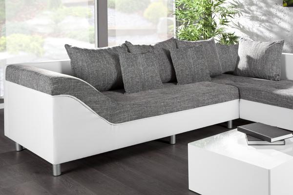 design ecksofa sultan strukturstoff farbwahl gro es sofa couch wohnlandschaft ebay. Black Bedroom Furniture Sets. Home Design Ideas