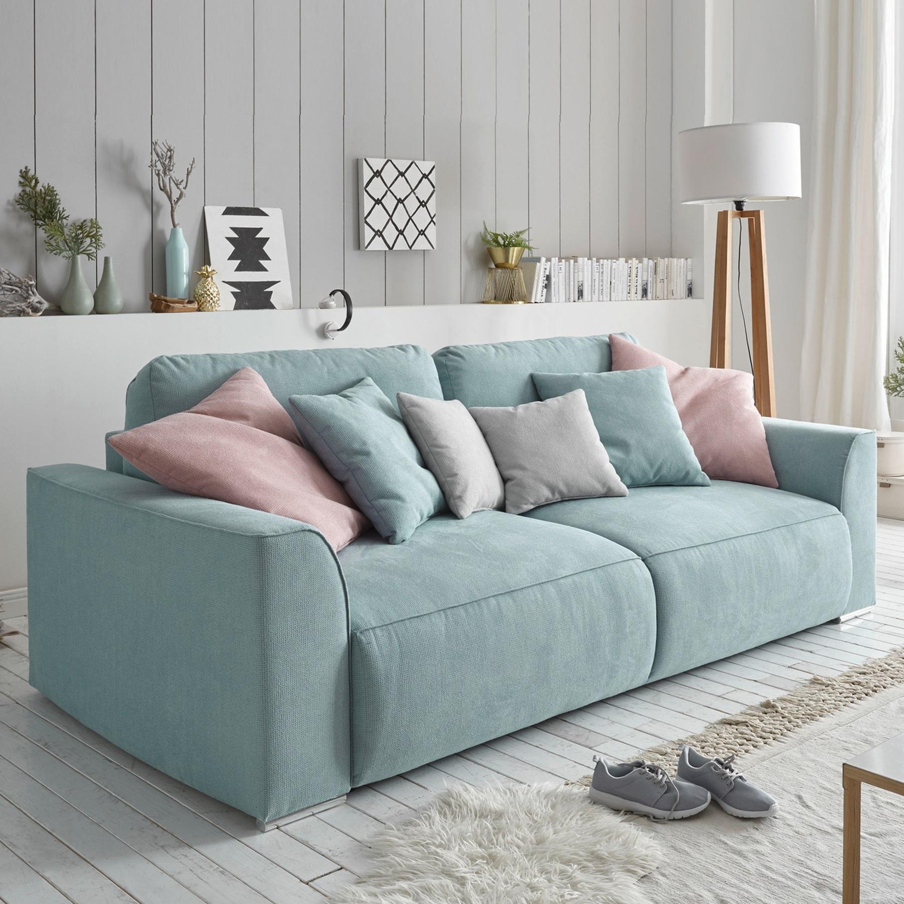 big sofa weekend schlaffunktion mit bettkasten schlafsofa schlafcouch xxl couch ebay. Black Bedroom Furniture Sets. Home Design Ideas