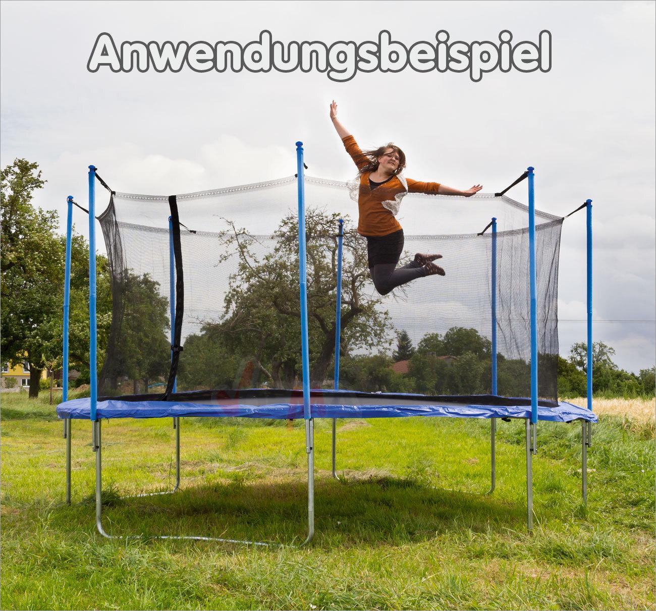 Ersatznetz trampolinnetz sicherheitsnetz fangnetz netz f for Gartenartikel gunstig
