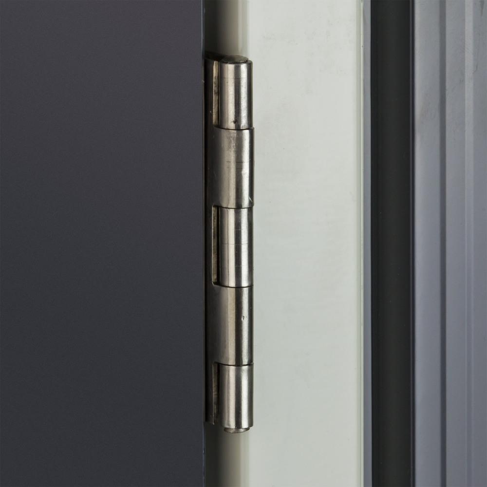 fahrradgarage fahrrad garage metallhaus anthrazit 4 m f r 4 fahrr der 638801730514 ebay. Black Bedroom Furniture Sets. Home Design Ideas