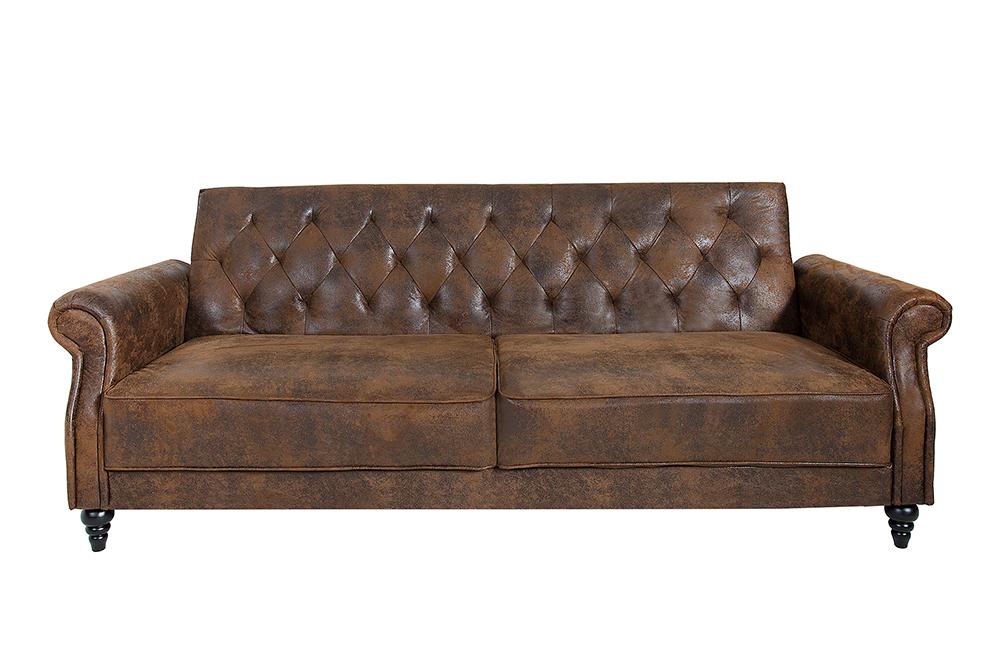 Sofa MAISON BELLE AFFAIRE 220cm FARBWAHL 2-Sitzer Couch Chesterfield ...