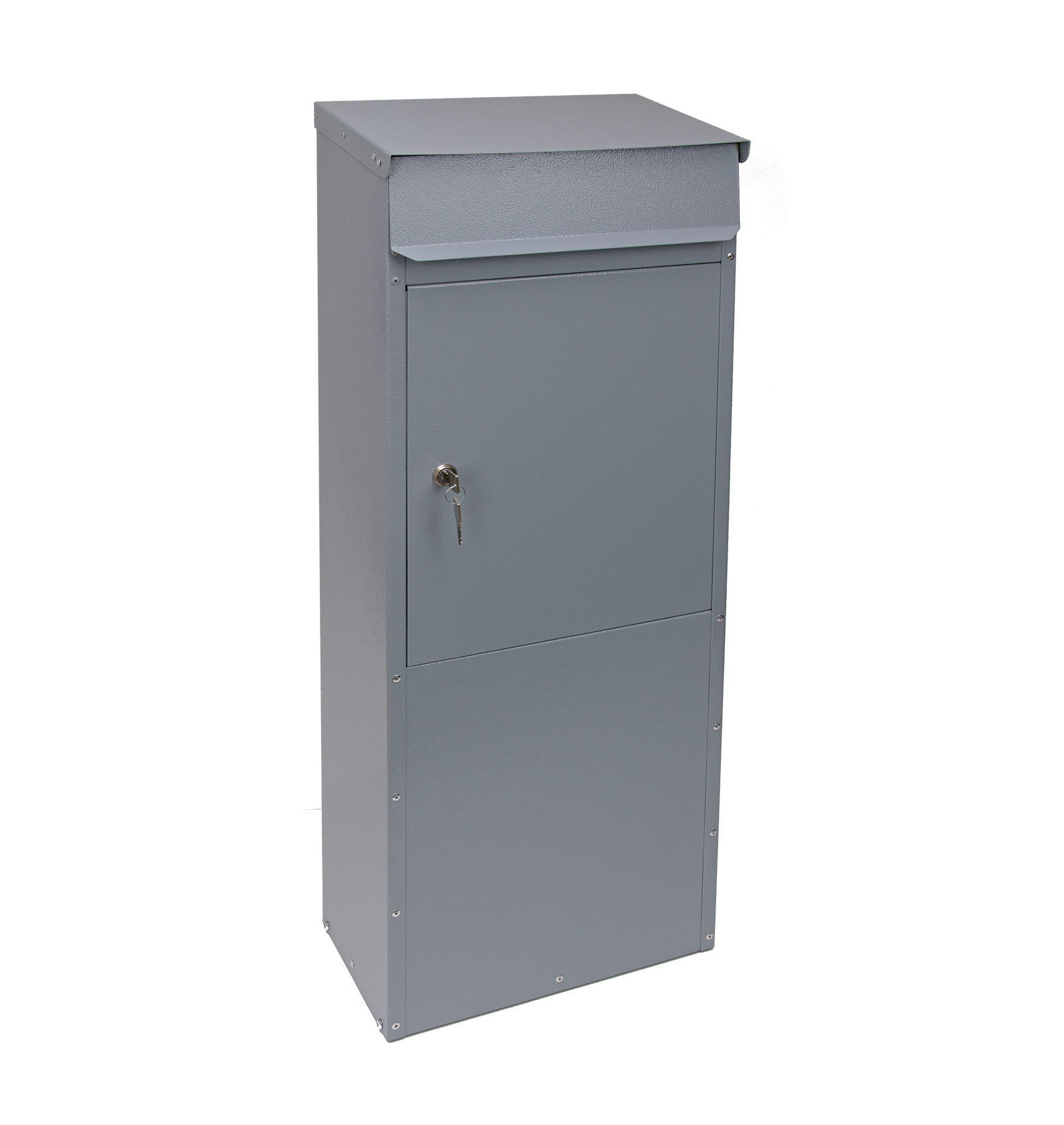 standbriefkasten briefkasten postkasten ral 7001. Black Bedroom Furniture Sets. Home Design Ideas