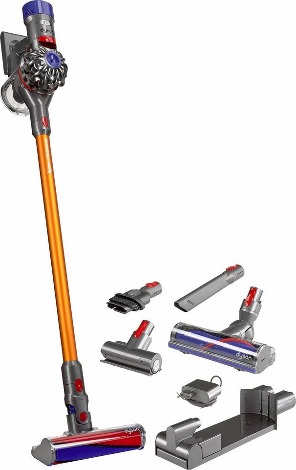 dyson v8 absolute modell 2017 akku staubsauger beutellos. Black Bedroom Furniture Sets. Home Design Ideas