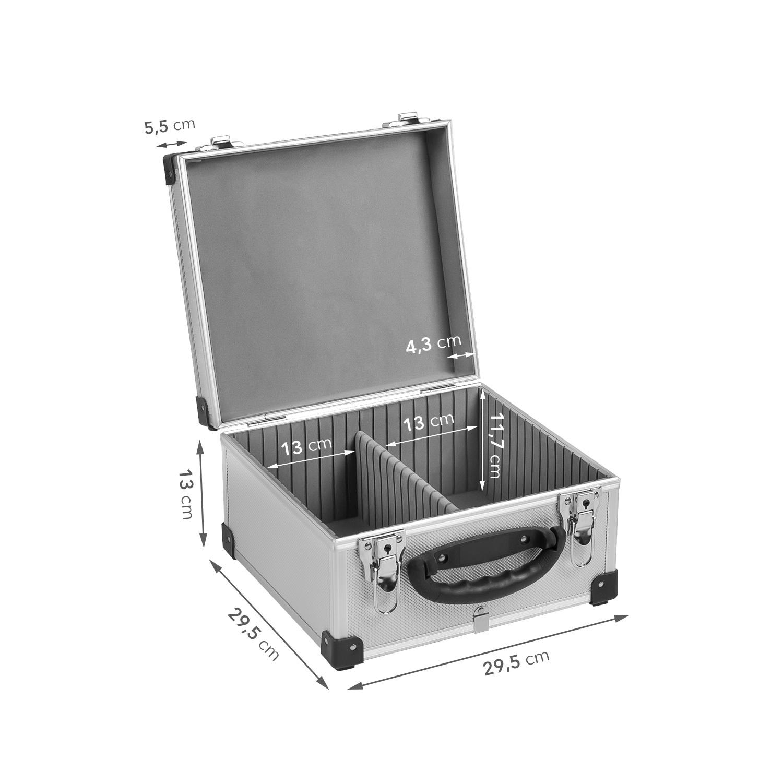 Zubehör & Aufbewahrung Neopren Lange Lebensdauer Dj Cd-koffer Alukoffer Für 60 Cds Mit Schlüssel Dj Case Box Innenraum Möbel & Wohnen