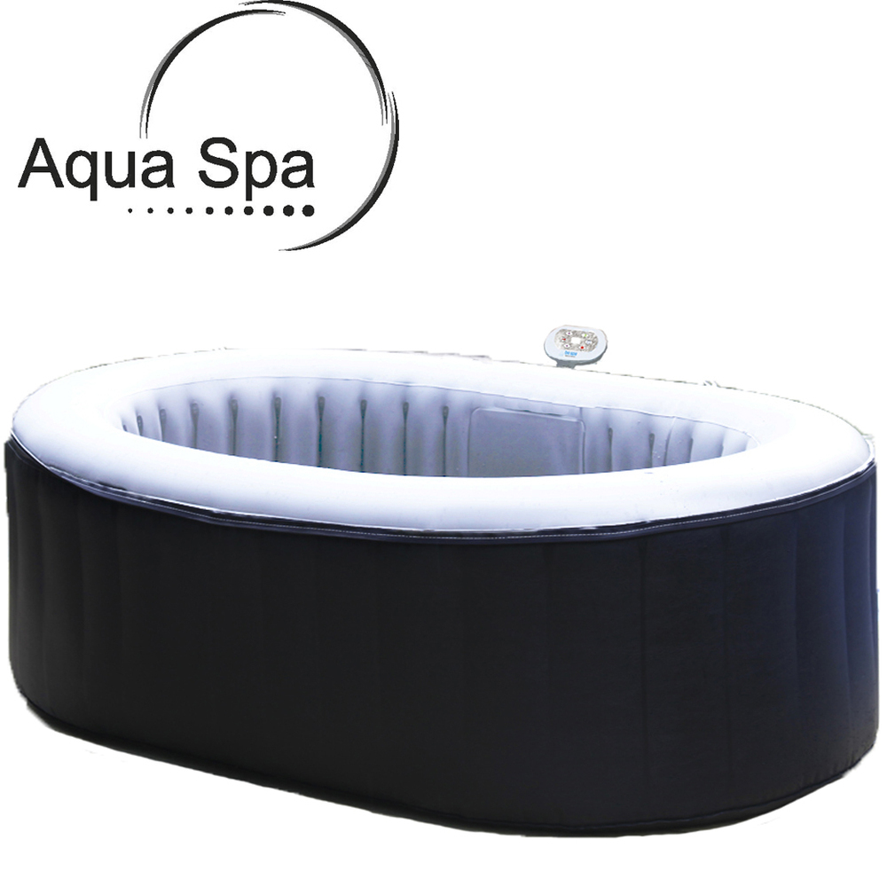 aqua spa luxus whirlpool jacuzzi spa badewanne indoor outdoor aufblasbar heizung. Black Bedroom Furniture Sets. Home Design Ideas