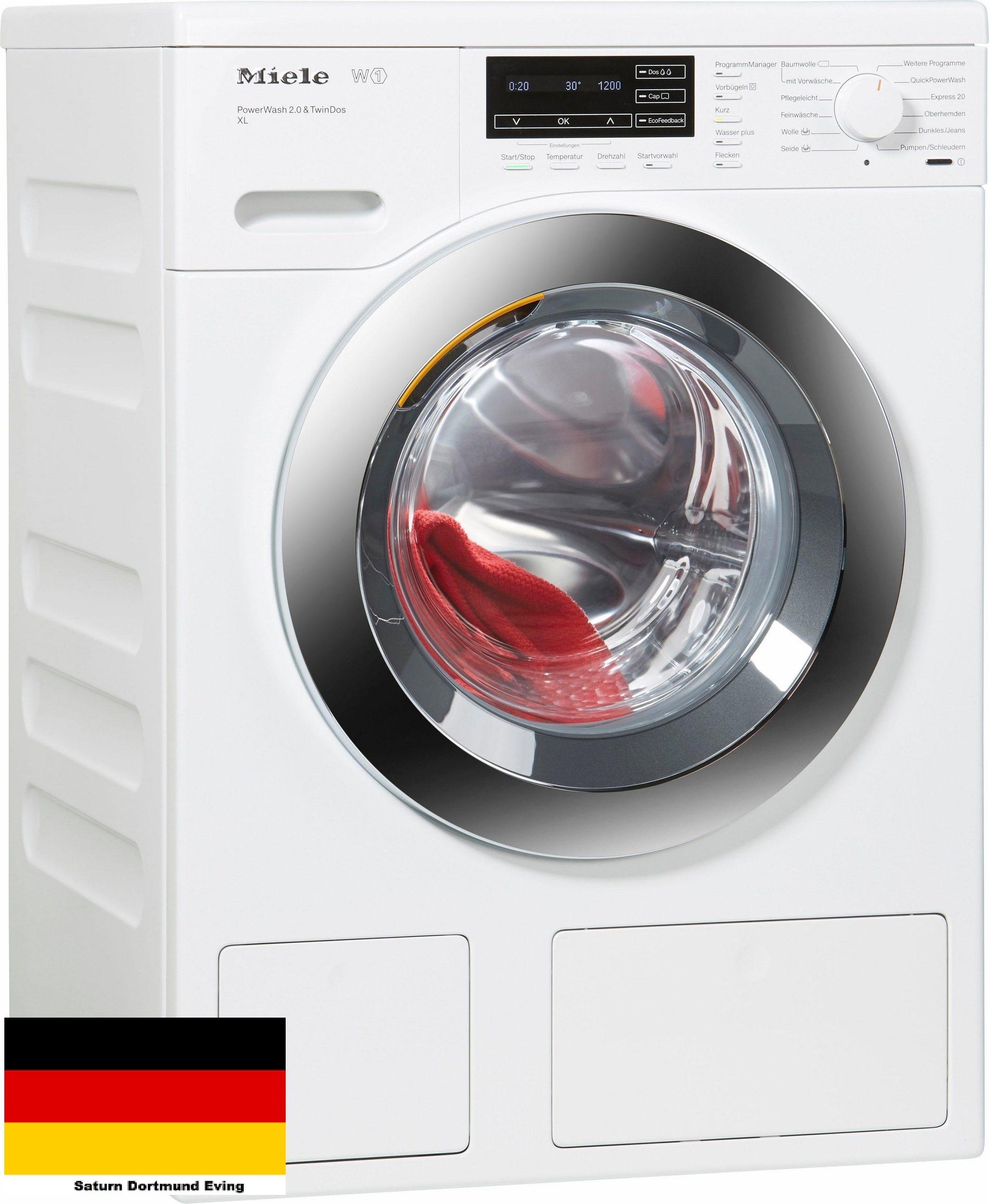 miele wkh 122 wps waschmaschine 9 kg 1600 u min a neu ebay. Black Bedroom Furniture Sets. Home Design Ideas