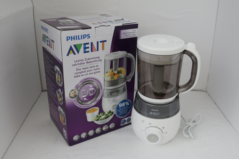 Philips Avent - 4 in 1 Babynahrungszubereiter - Dampfgaren