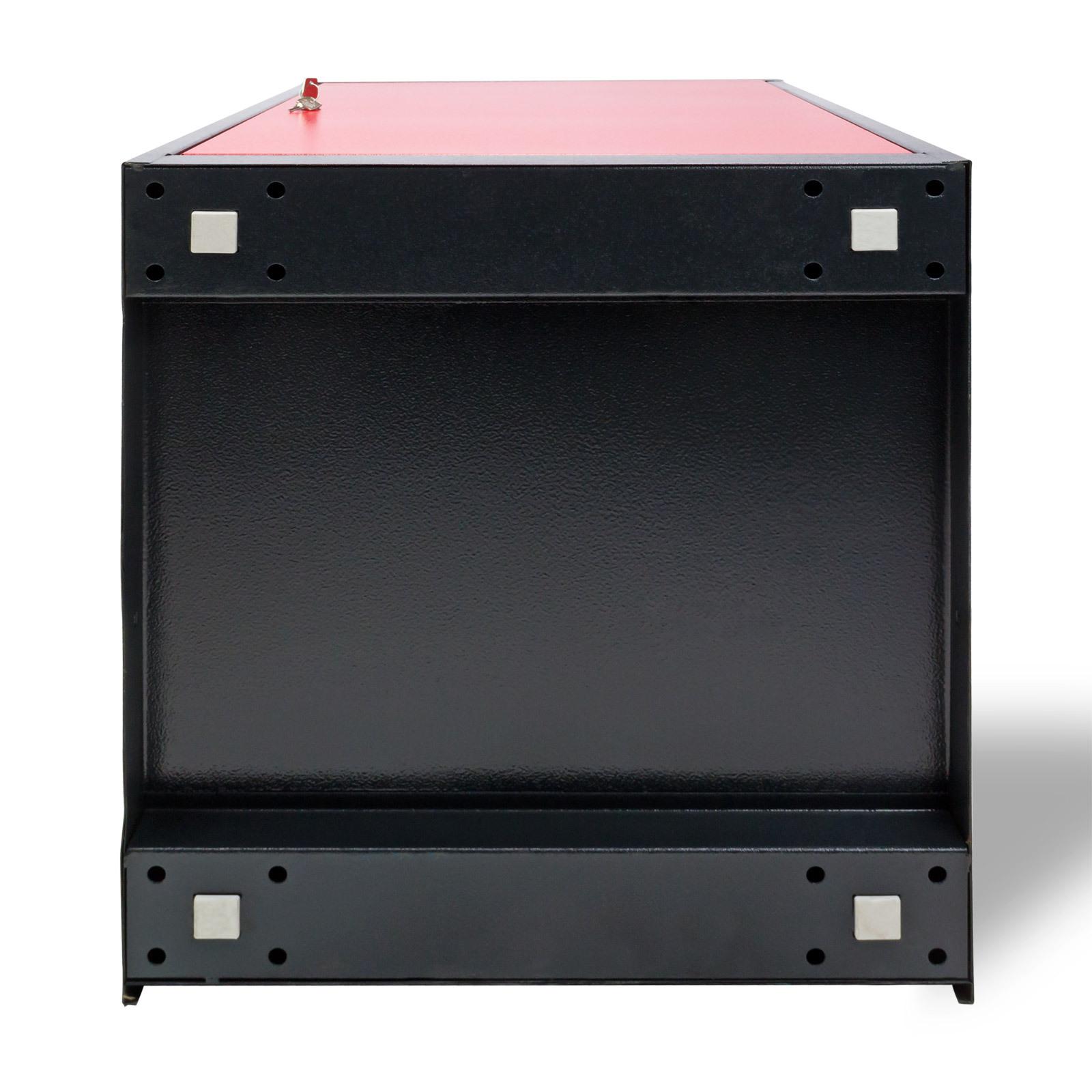 werkstattschrank werkzeugschrank schrank rot anthrazit 1 fach 2 schubladen 4031765213943 ebay. Black Bedroom Furniture Sets. Home Design Ideas