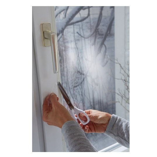 Tesa thermo cover fensterisolierfolie isolierfolie fensterfolie folie w rmefolie ebay - Tesa fensterfolie ...