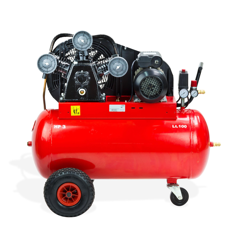 kompressor 100 liter l 230v 2 2 kw 10 bar 600 l min dreizylinder v aggregat ebay. Black Bedroom Furniture Sets. Home Design Ideas