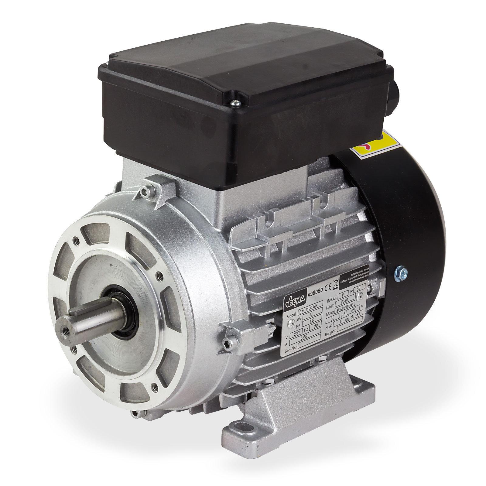 Motor 250W 2,5A Einphasen Elektromotor Lüftermotor Gebläse NEU 230V 1400U//min