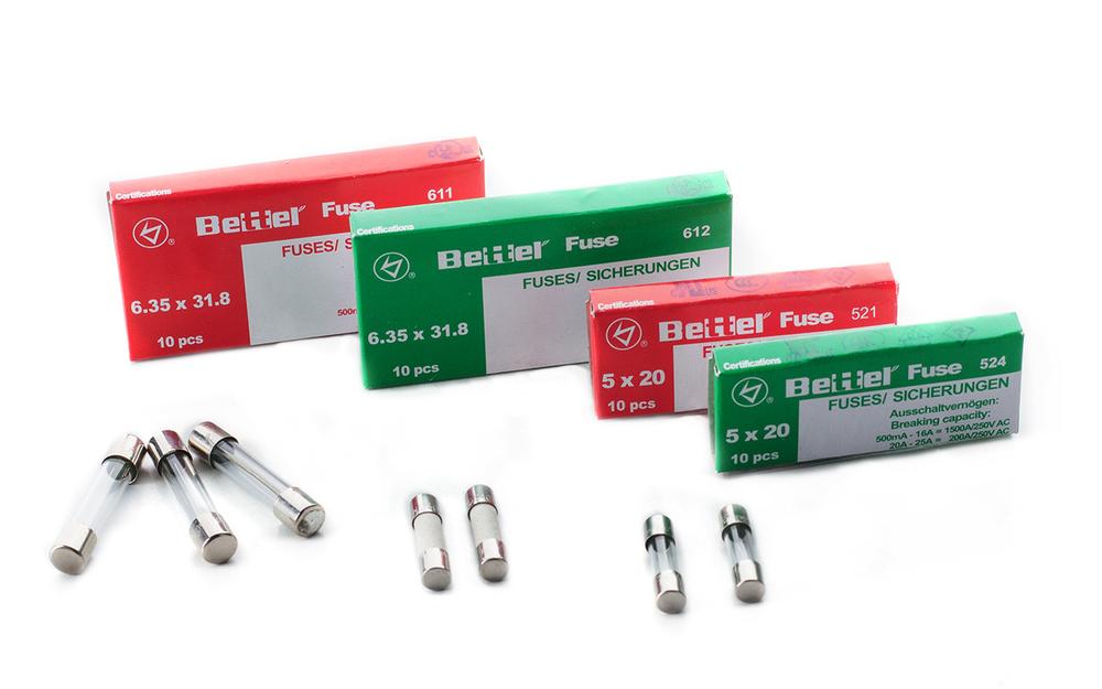 6,3x32 US-Sicherung 10er Pack flink 1,6 A