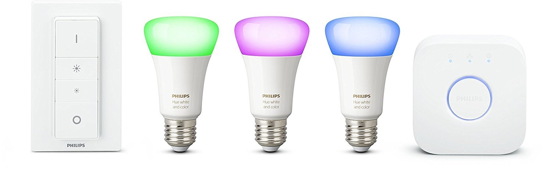 2321725 Philips Hue White & Color Ambiance E27 LED Lampe Starter Set ...