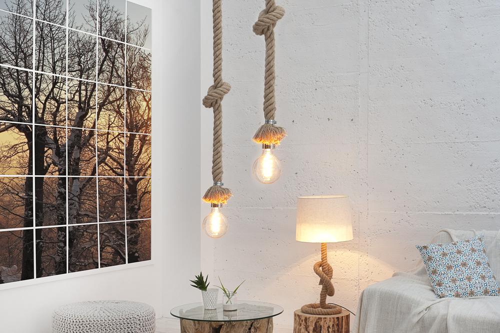 h ngeleuchte seven seas 150cm maritime tauleuchte. Black Bedroom Furniture Sets. Home Design Ideas