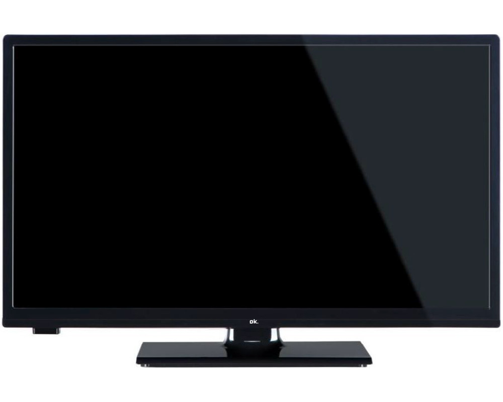 ok ole 24650 h tb led tv fernseher flat 24 zoll hd ready. Black Bedroom Furniture Sets. Home Design Ideas