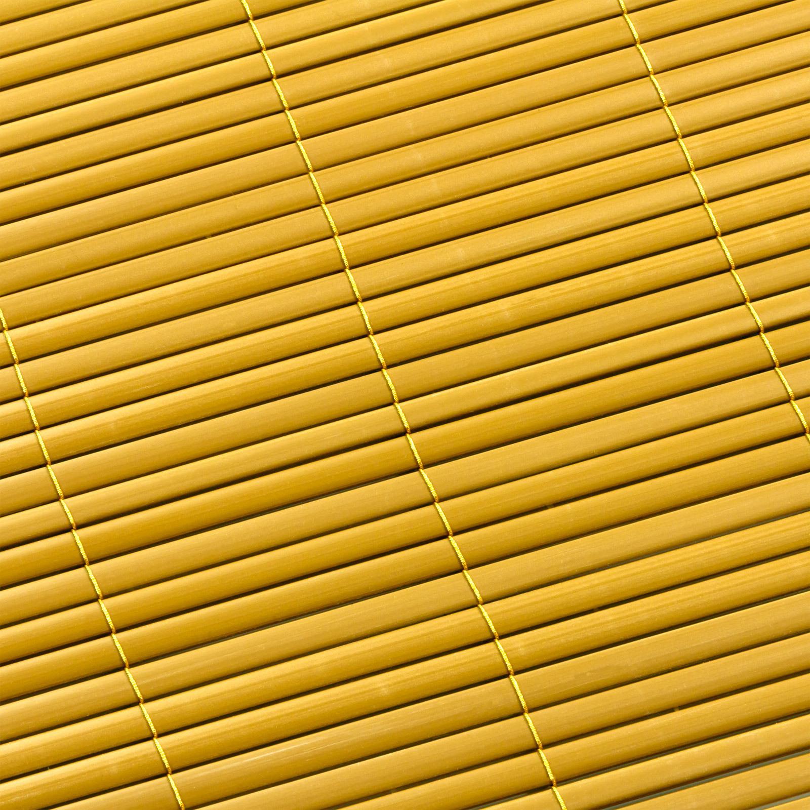 sichtschutzmatte sichtschutz balkonsichtschutz garten matte 120x500cm pvc bambus ebay. Black Bedroom Furniture Sets. Home Design Ideas