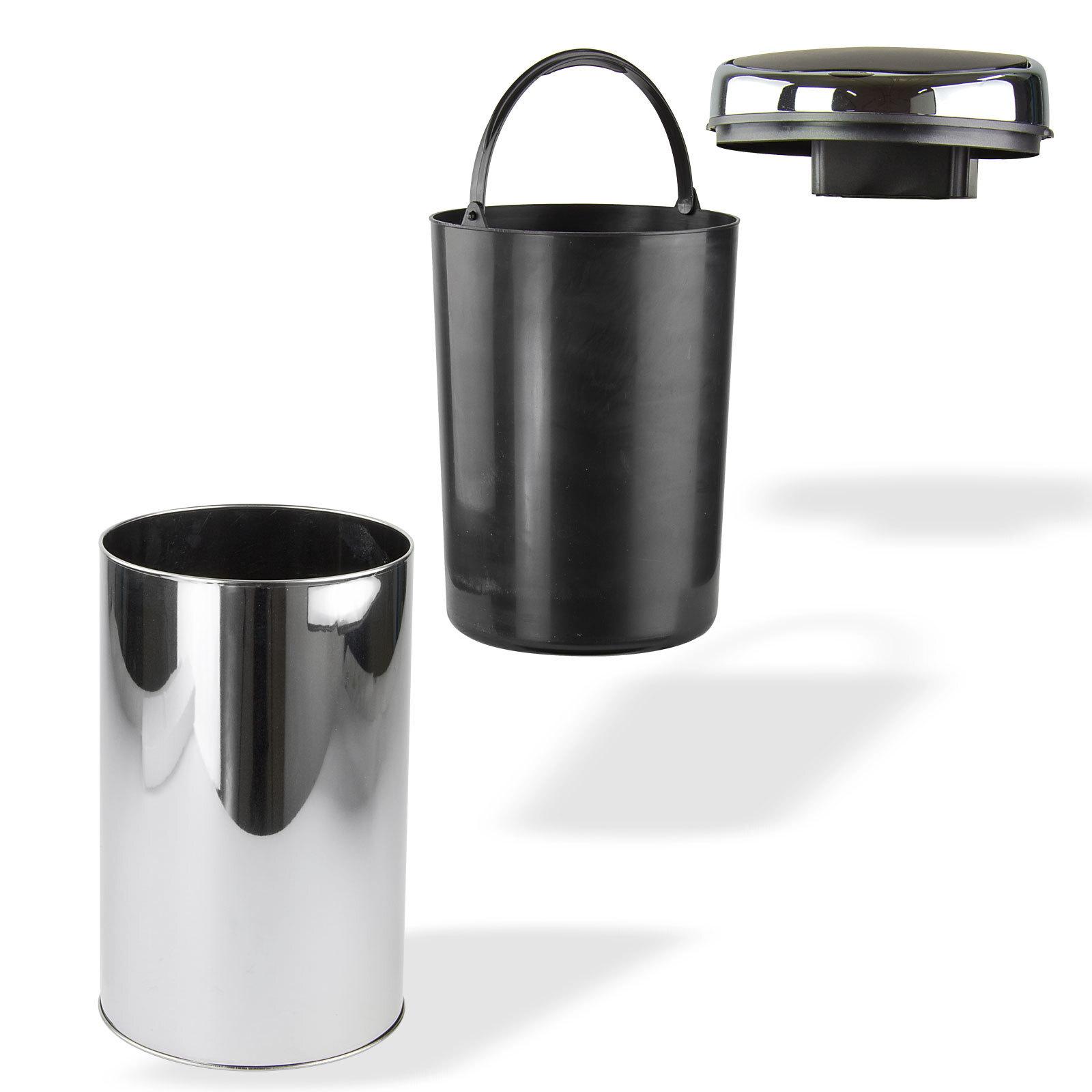 automatik m lleimer abfalleimer mit sensor 6 liter silber. Black Bedroom Furniture Sets. Home Design Ideas