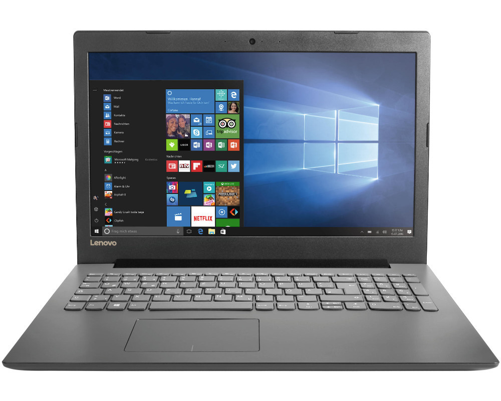 lenovo ideapad 320 notebook 15 6 zoll display celeron. Black Bedroom Furniture Sets. Home Design Ideas