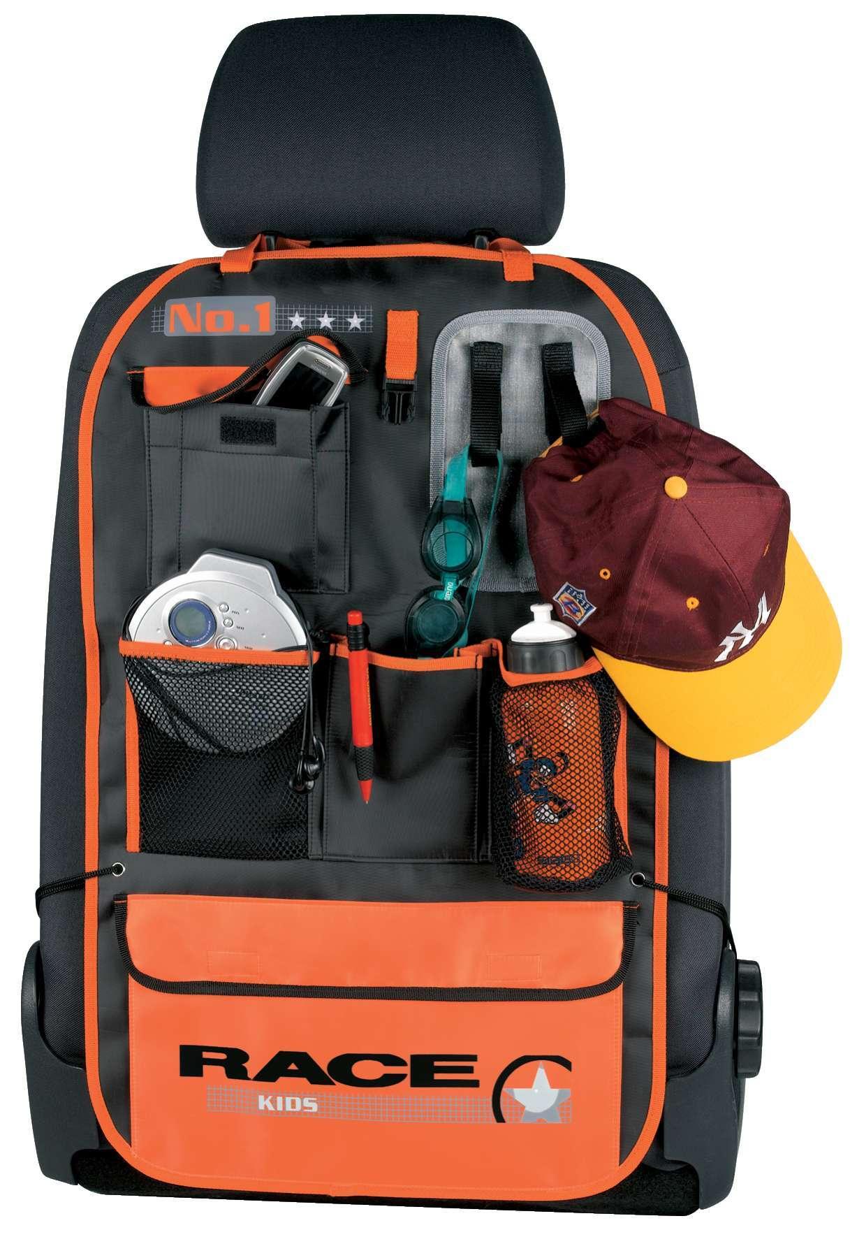 auto tasche r cksitz tasche f r kinder orange auto. Black Bedroom Furniture Sets. Home Design Ideas