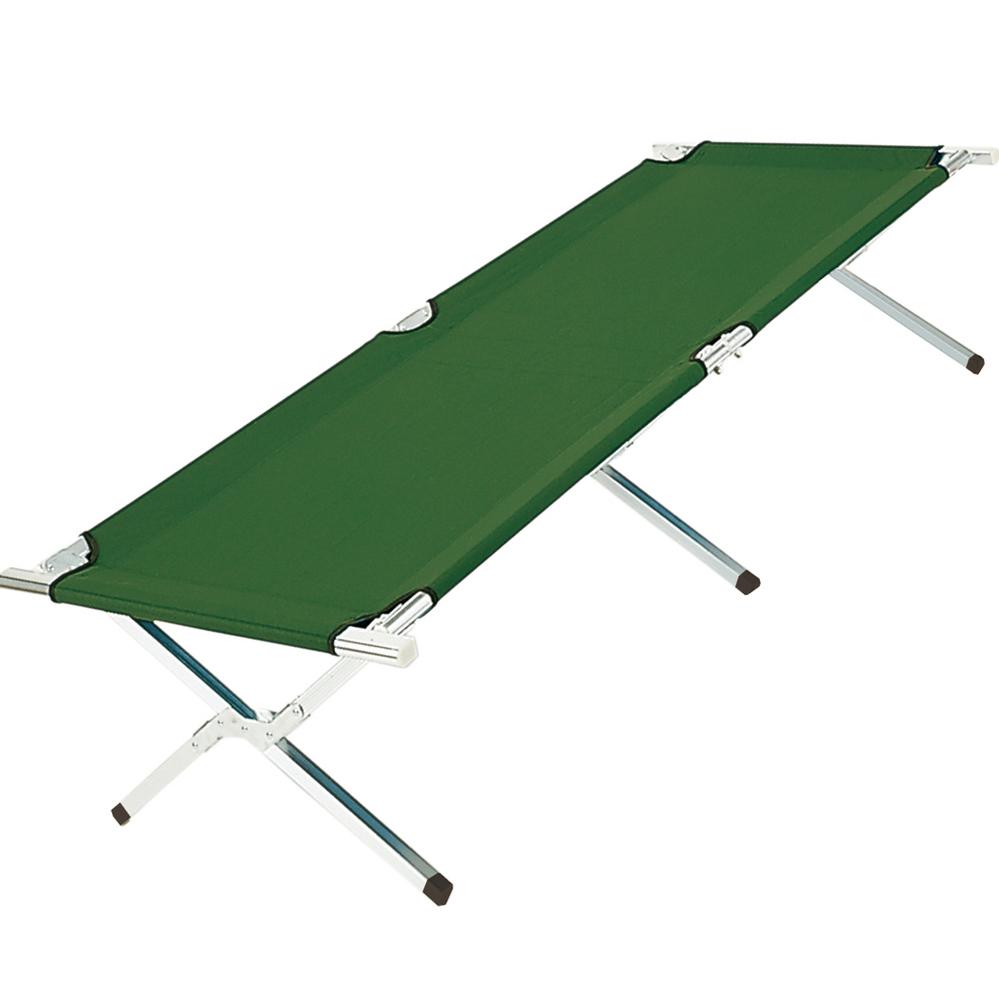 Feldbett Campingbett 190x62x42 grün bett liege Gästebett Reisebett ...