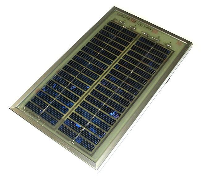 6v 12v solarpanel 3w mit div ladekabeln 175x290mm 932 ebay. Black Bedroom Furniture Sets. Home Design Ideas
