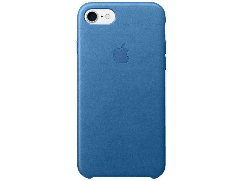 apple mmy42zm a iphone 7 ledertasche backcover blau neu. Black Bedroom Furniture Sets. Home Design Ideas