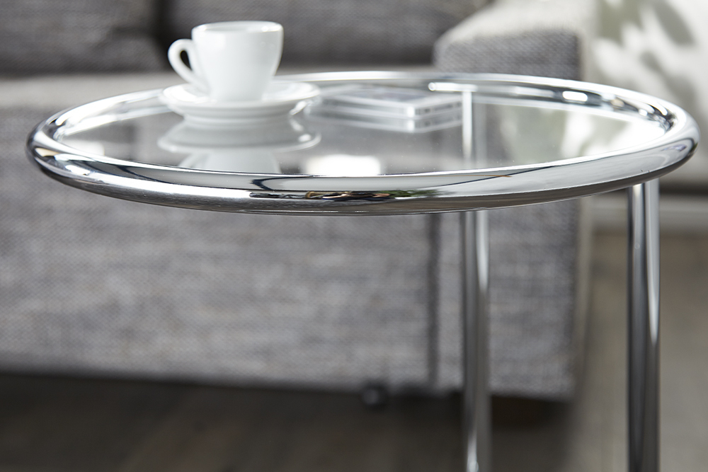 Design m bel beistelltisch original art deco couchtisch glastisch tische ebay Riess ambiente sofa