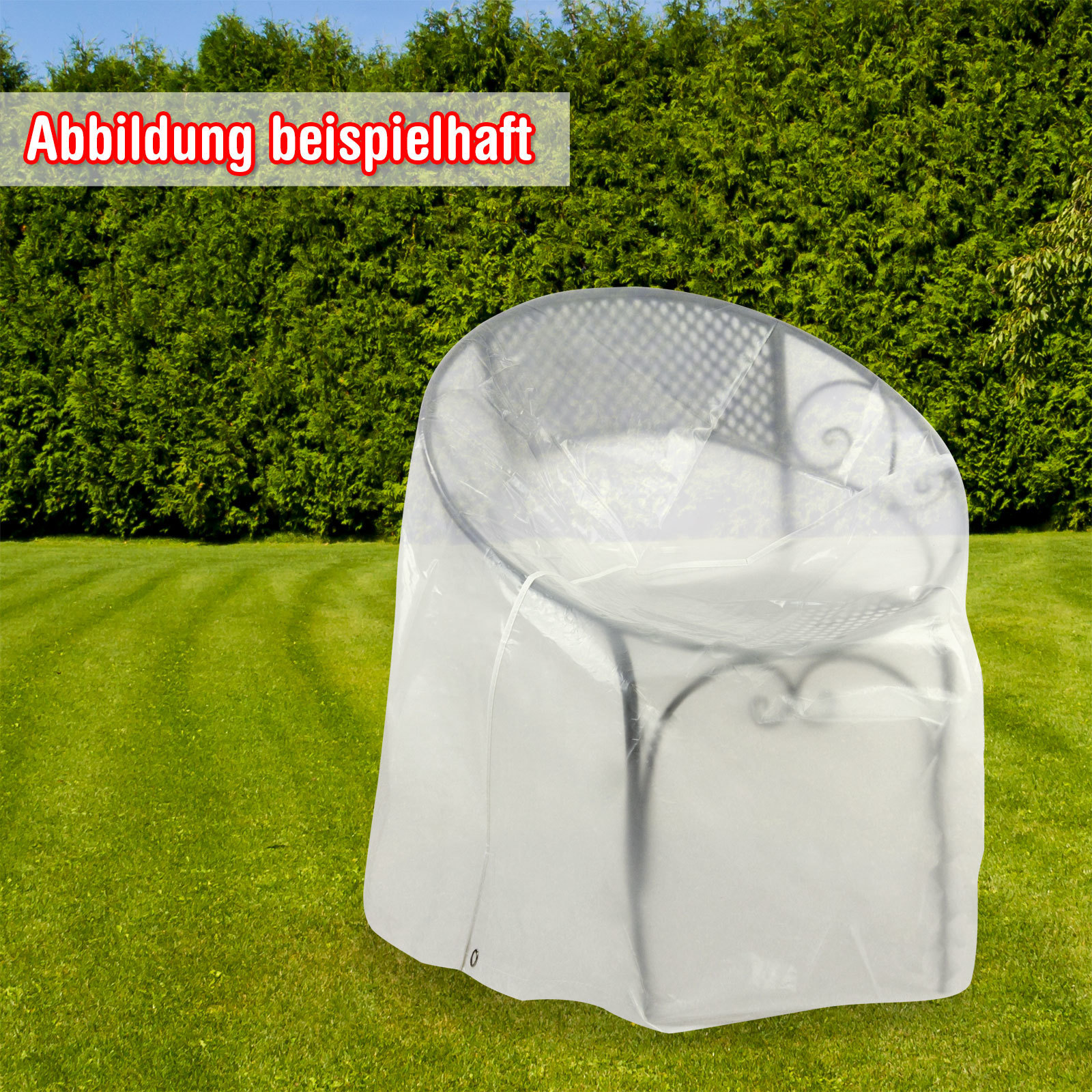 schutzh lle h lle f r gartenliege liege sonnenliege gartenm bel 200x75x45 cm ebay. Black Bedroom Furniture Sets. Home Design Ideas