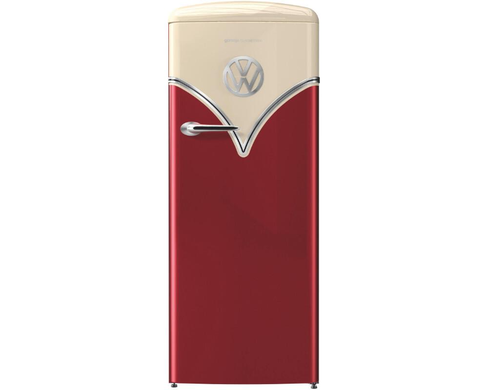 Retro Kühlschrank Groß : Gorenje obrb 153 r vw bulli retro kühlschrank a 124 kwh jahr