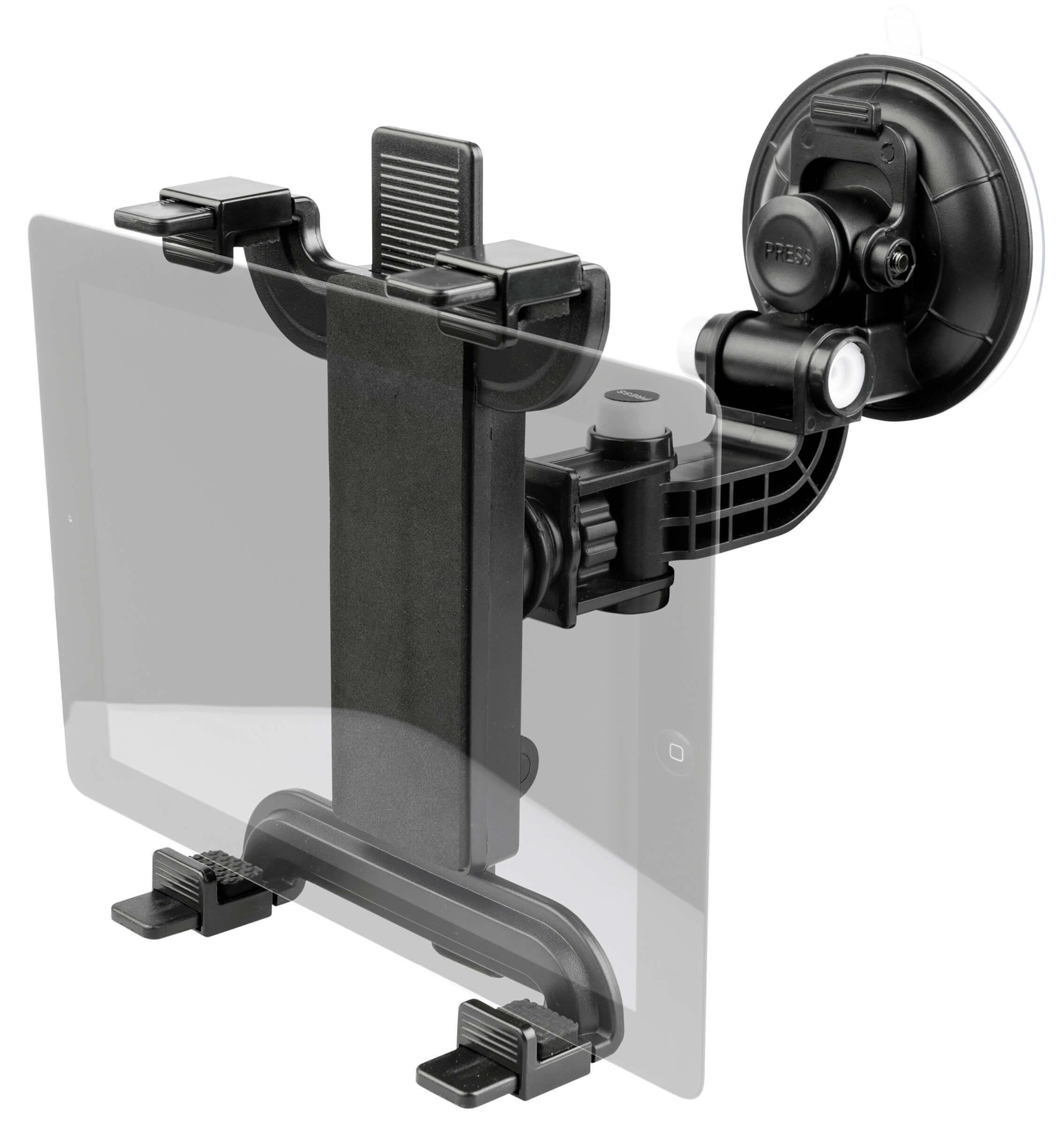 premium auto tablet halterung f r pkw mit saugnapf bis 10 zoll ipad galaxy ebay. Black Bedroom Furniture Sets. Home Design Ideas