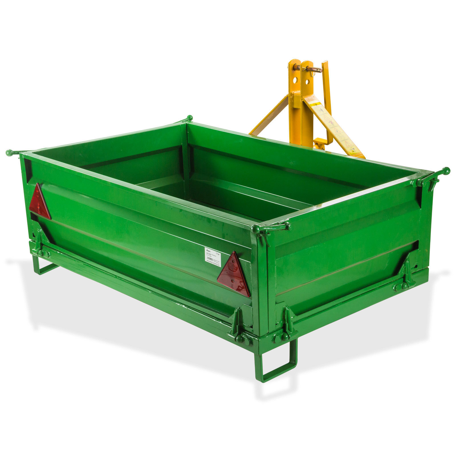 Traktor Heckcontainer Container Mulde Heckmulde mit Bordwand abnehmbar 500 kg